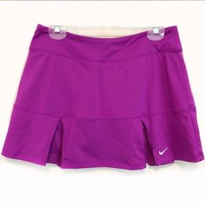 •NIKE• Power Pleated Tennis Skirt Size M